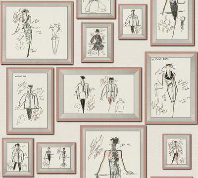 AS Creation Karl Lagerfeld Sketch 37846-4 / 378464