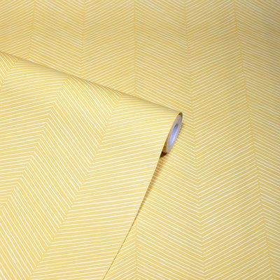 Arthouse Arrow Weave Ochre 909400