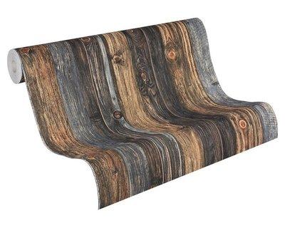 AS Creation Woodïn Stone 9086-12 Houtstructuur behang
