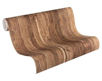 AS Creation Woodïn Stone 9086-29 Houtstructuur behang