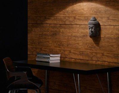 AS Creation Woodïn Stone 7088-23 Houtstructuur behang