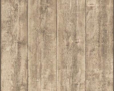 AS Creation Woodïn Stone 7088-16 / 7329.2 Houtstructuur behang