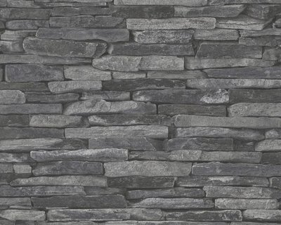 AS Creation Woodïn Stone 9142-24 Steenstructuur behang