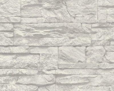 AS Creation Wood´n Stone 7071-16 Steenstructuur behang