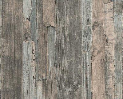 AS Creation Decoworld behang 95405-2 Verweerd Sloophout