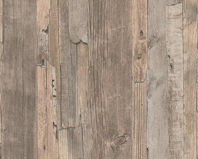 AS Creation Decoworld behang 95405-3 Verweerd Sloophout