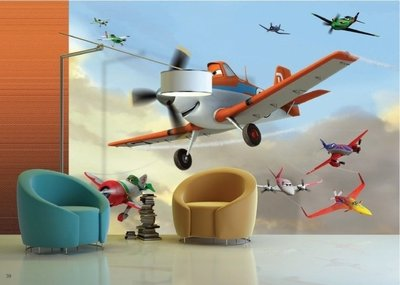 AG Design Fotobehang Disney Planes FTD2218