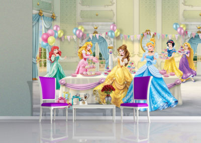 AG Design Fotobehang Disney Princess Celebrate FTD2224