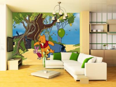 AG Design Fotobehang Disney Winnie the Pooh FTD0247