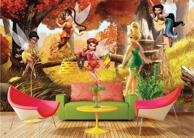AG Design Fotobehang Disney Fairies FTD0251