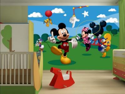 AG Design Fotobehang Disney Mickey Mouse FTD0253