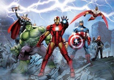 AG Design Fotobehang Marvel Avengers FTD2230