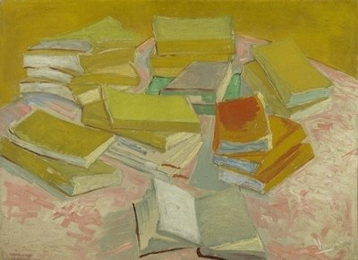 BN Wallcoverings Van Gogh 30540 Stapels Franse romans (Met Gratis Perfax Lijm!)