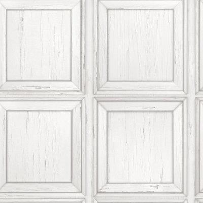 214505 vintage panelen wit grijs tinten