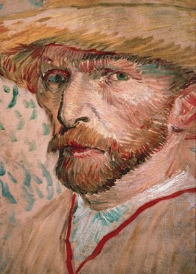 Evolution V fotobehang 1426 Vincent van Gogh Selfportait