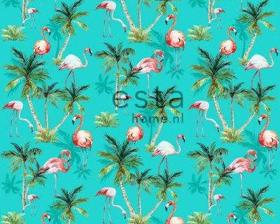 flamingos wallpaper XXL 158609