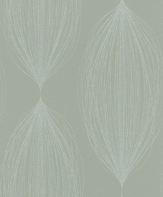 Rasch Sparkling 523423 met zilver glitter patroon