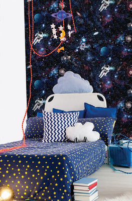 Dutch Wallcoverings Make Believe Intergalactic 12500
