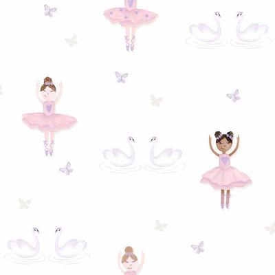 Dutch Wallcoverings Make Believe Ballerina 12461