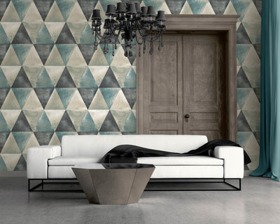 Dutch Wallcoverings Hexagone L625-01