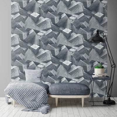 Dutch Wallcoverings Hexagone L505-01