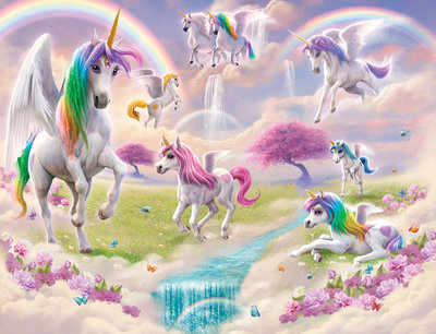 Walltastic Wall Mural Magic Unicorn 46245