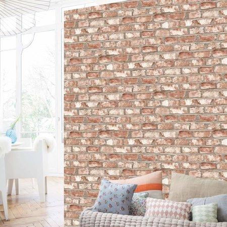 Dutch Exposed Warehouse behang EW3102 steen