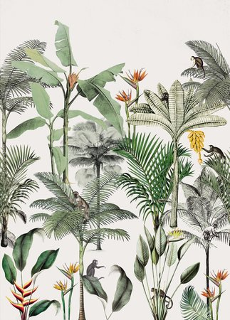 Rasch Club Botanique 539172 (Met Gratis Lijm!)