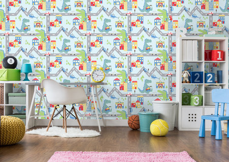 Dutch Wallcoverings Over The Rainbow 90911