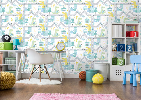 Dutch Wallcoverings Over The Rainbow 90912