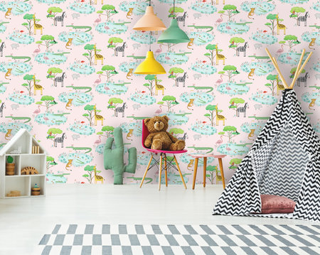 Dutch Wallcoverings Over The Rainbow 90931