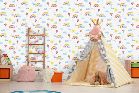 Dutch Wallcoverings Over The Rainbow 91020