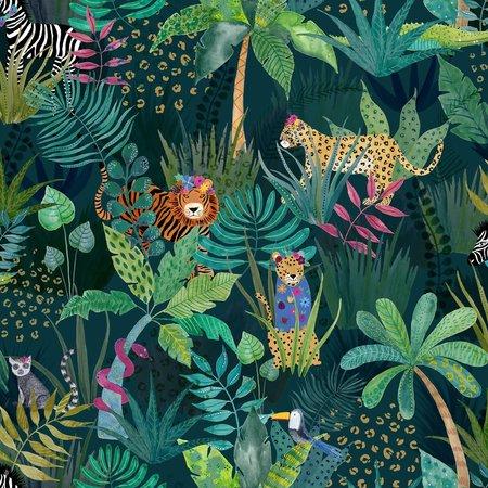 Arthouse 907604 Hidden Jungle Emerald