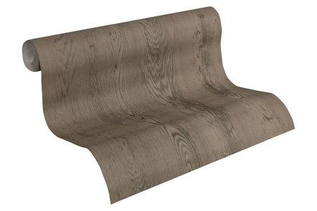 AS Creation Decoworld behang 95449-3 Houtstructuur