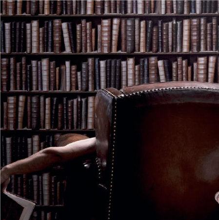 The duke,s bookcase relief vinyl