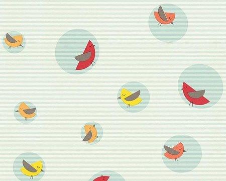 Esprit Kids 4 kinderbehang Bubble Birds
