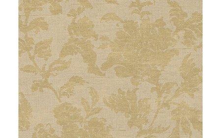 Vlies Rasch Textil Floral Struktur creme goud 225036 collectie Comtesse