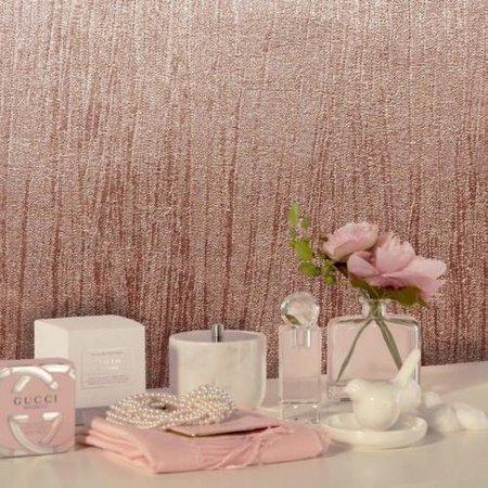 M1394 Crown roze glans vinyl