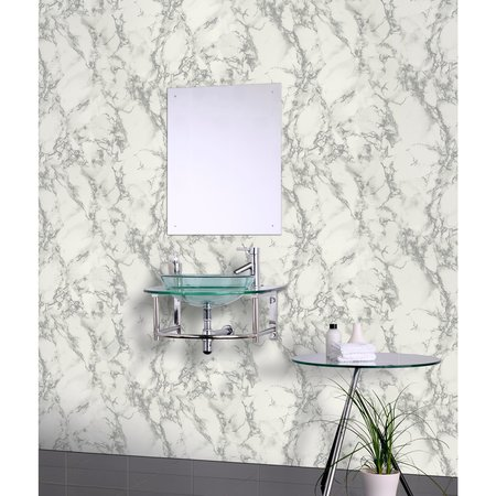 Arthouse Carrara Marble Silver 296701