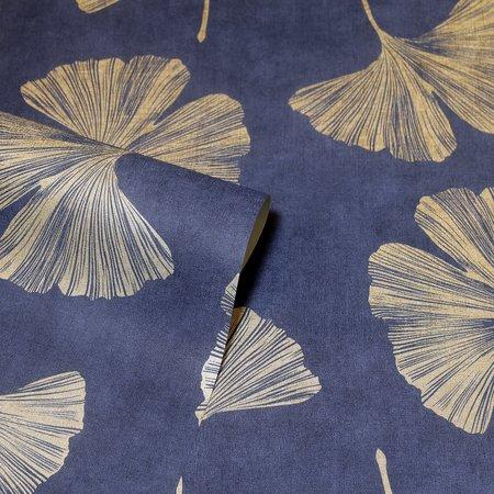 Arthouse Ginkgo Leaf Navy 297300