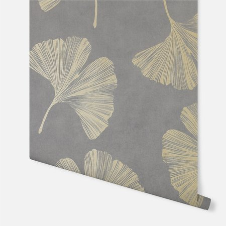 Arthouse Ginkgo Leaf Mocha 297301