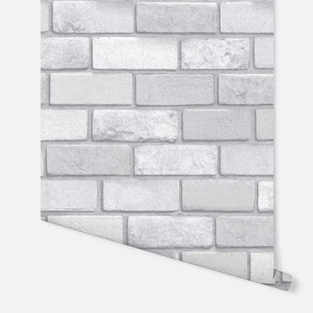 Arthouse Diamond Brick Silver 669401
