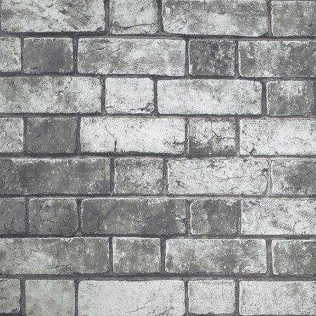 Arthouse Brickwork Grey 886500
