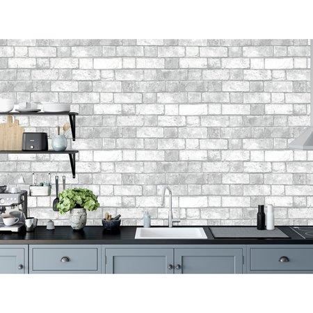 Arthouse Brickwork White 886501