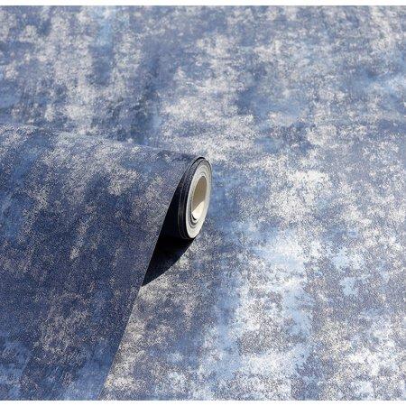 Arthouse Stone Textures Navy/Silver 902108