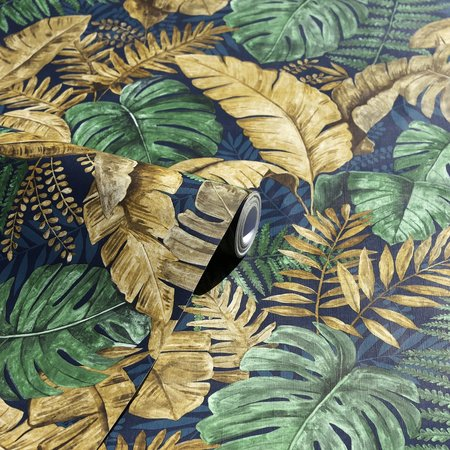 Arthouse Jungle Canopy Ochre 909101