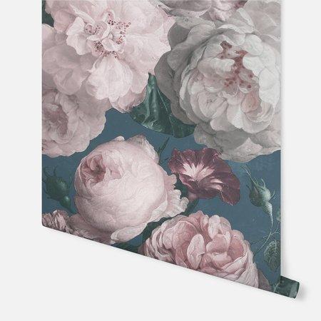 Arthouse Highgrove Floral Teal 909301