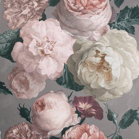 Arthouse Highgrove Floral Warm Grey 909302