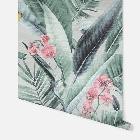 Arthouse Lush Tropical Grey Multi 909404