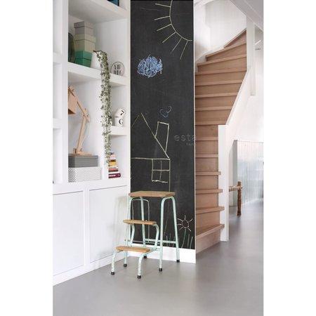 Esta Home Krijtbord Behang Zwart 155005 (10M)